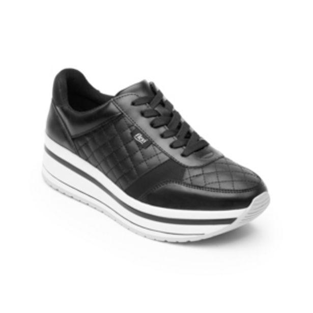 Oferta de Sneaker Urbano Flexi para Mujer Estilo 101007 Negro por $899