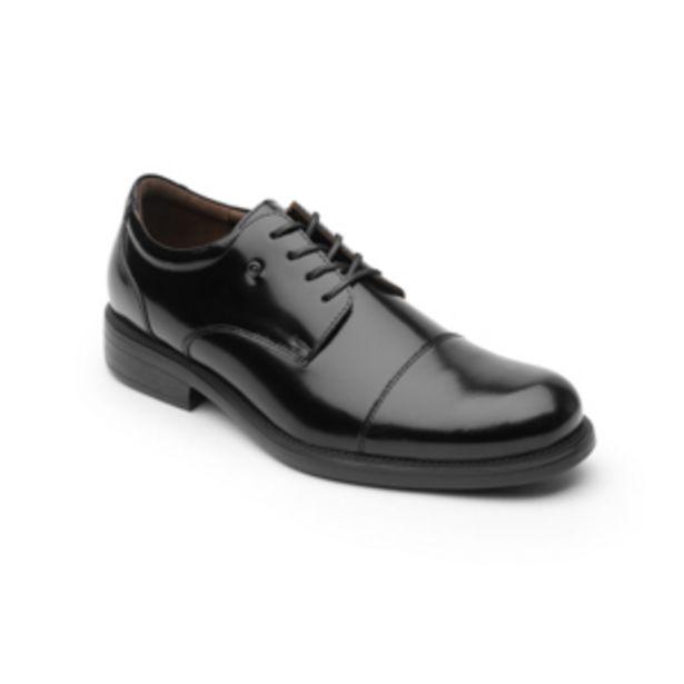 Oferta de Zapato Derby Liso Clásico Quirelli Con Suela Extra Ligera Para Hombre - Estilo 700202 Negro por $749.4