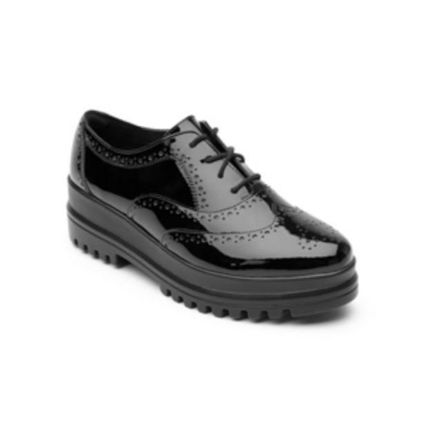 Oferta de Zapato Casual Flexi Con Suela Creeper Para Mujer - Estilo 101103 Negro por $509.4