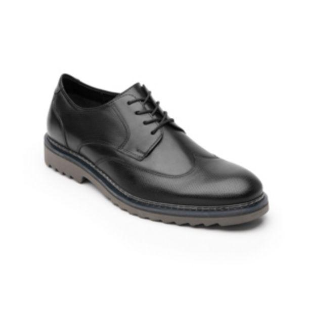 Oferta de Zapato Casual Urbano Flexi Con Puntera Texturizada  Para Hombre - Estilo 402702 Negro por $499
