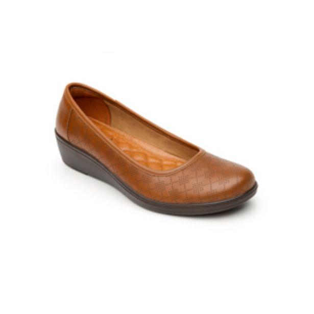 Oferta de Flat Casual Flexi Con Plantilla Comfort Pad Para Mujer - Estilo 45602 Tan por $449.4