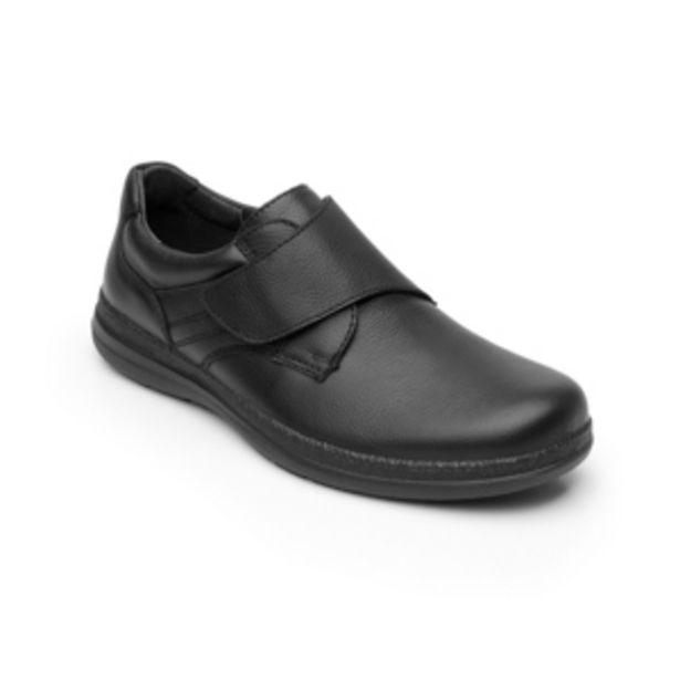 Oferta de Zapato Casual Para De Servicio/Clínico Flexi Con Velcro  Para Hombre - Estilo 50609 Negro por $594.3