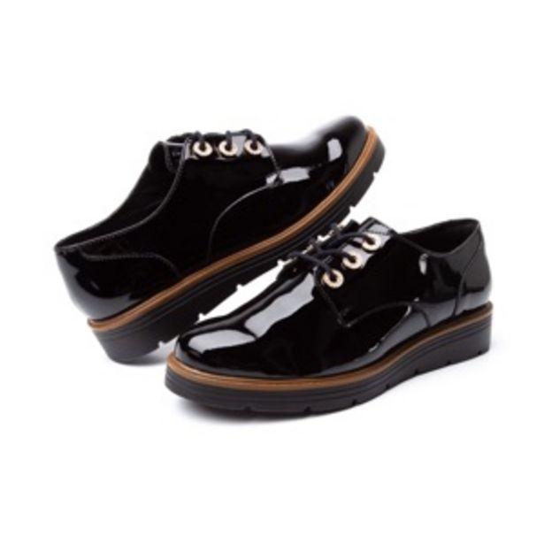 Oferta de Zapato Trendy Casual Flexi Con Brillo Charol Para Mujer - Estilo 45713 Negro por $449.5