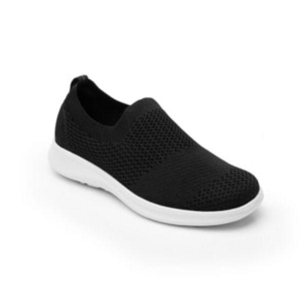 Oferta de Sneaker Escolar Flexi de tipo Textil con Suela Extra Ligera para Niña Estilo 103903 Negro por $359.4