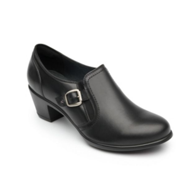 Oferta de Zapato De Tacón Casual Flexi Con Hebilla Lateral Para Mujer - Estilo 15406 Negro por $629.3
