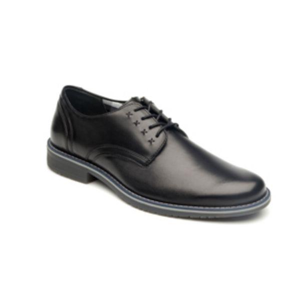 Oferta de Zapato Casual Urbano Flexi Con Suela Tricolor Para Hombre - Estilo 92401 Negro por $449