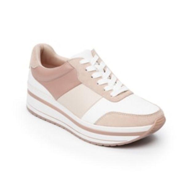 Oferta de Sneaker Urbano Flexi para Mujer Estilo 101008 Rosa por $899