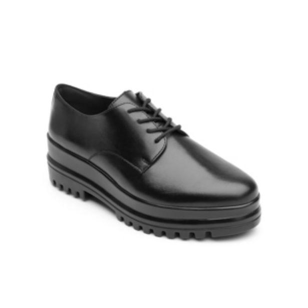 Oferta de Zapato Trendy Casual Flexi Con Suela Creeper Para Mujer - Estilo 101102 Black por $449