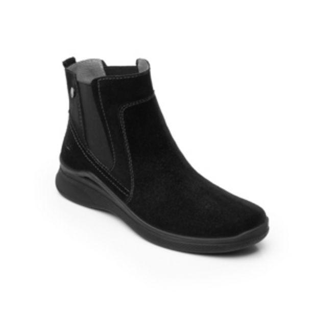 Oferta de Botín Con Elástico Flexi Country para Mujer con Sistema Walking Soft Estilo 37513 Negro por $449.5