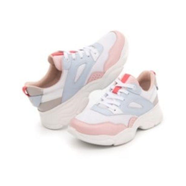 Oferta de Sneaker Casual Sport Mult Flexi Con  Suela Extra Ligera Flowtek  Para Mujer - Estilo 103402 Multicolor por $999
