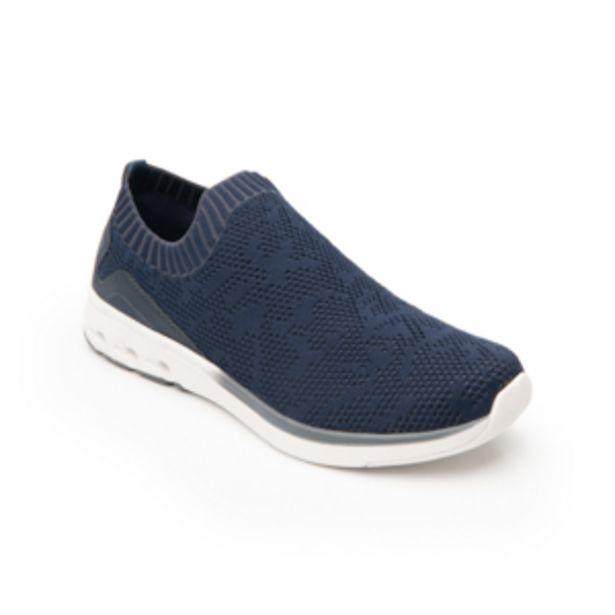 Oferta de Sneaker Tejido Tipo Calcetín Flexi para Mujer con Suela extraligera Estilo 105201 Azul por $759.2