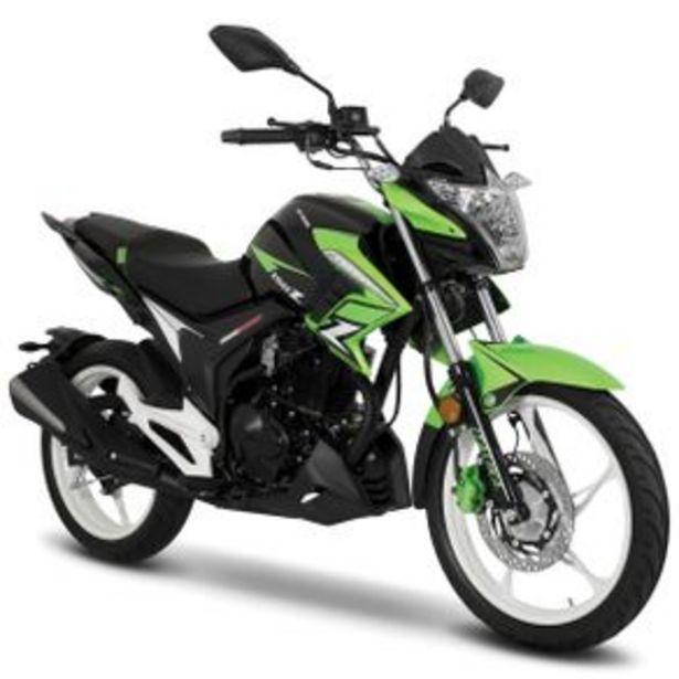 Oferta de Motocicleta Urbana Italika Verde - Negro 150Z por $39999