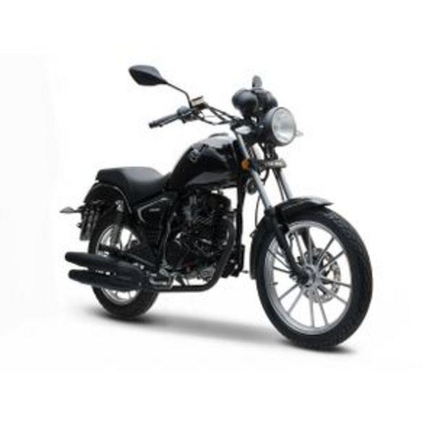Oferta de Motocicleta Chopper Italika Negra RC200 por $31999