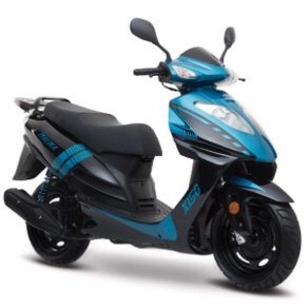 Oferta de Scooter Italika Azul - Negro X150 por $22999