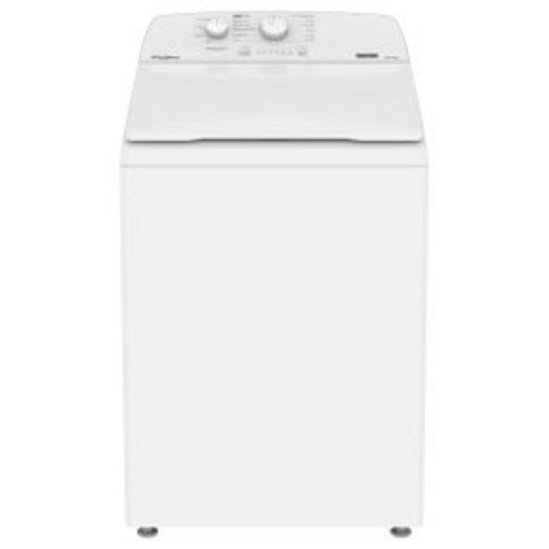 Oferta de Lavadora Automática Whirlpool 16 Kg Blanca 8Mwtw1612Mjq por $8739