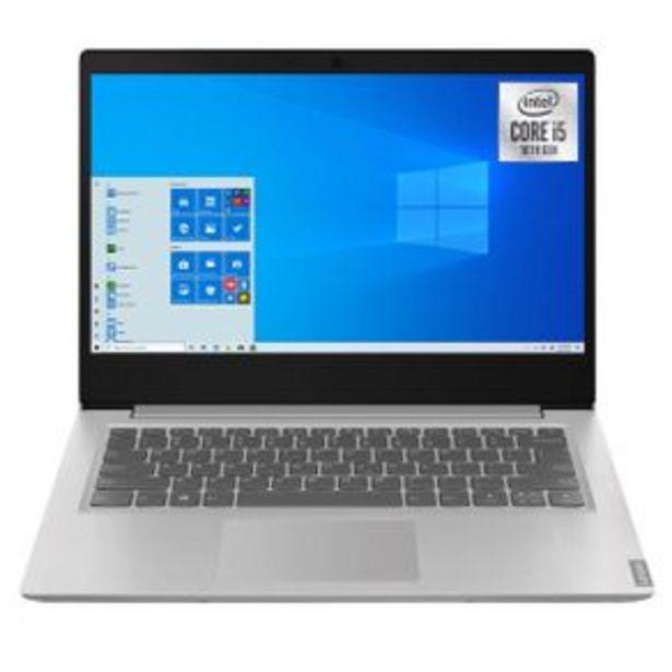 Oferta de Laptop Intel Core Lenovo Gris 81W600Enlm por $19499