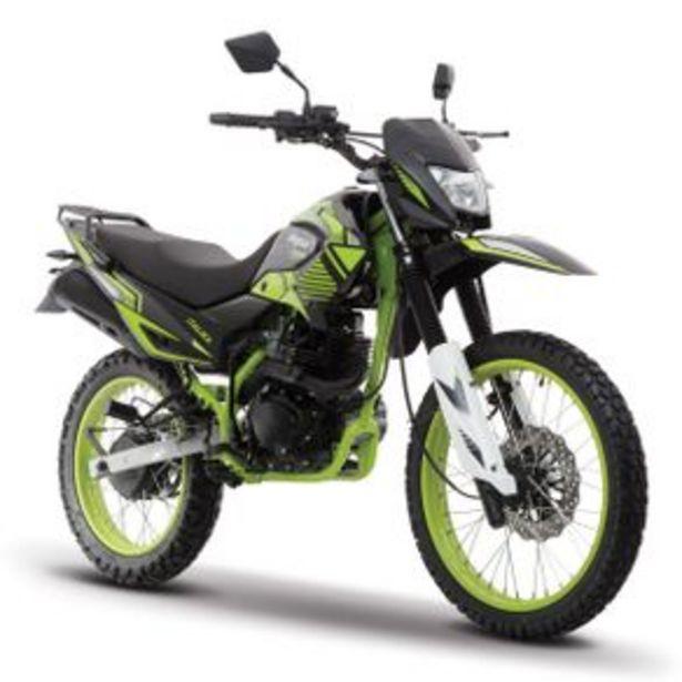 Oferta de Motocicleta Doble Propósito Italika Sport Negro - Verde Dm150 por $28999