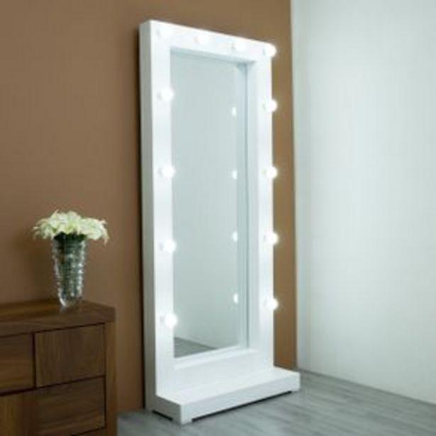 Oferta de Espejo De Pie Maribel Blanco Brimo por $4079