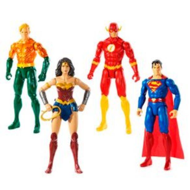 Oferta de Figuras De Acción Mattel Justice League Core Gdt49 por $129