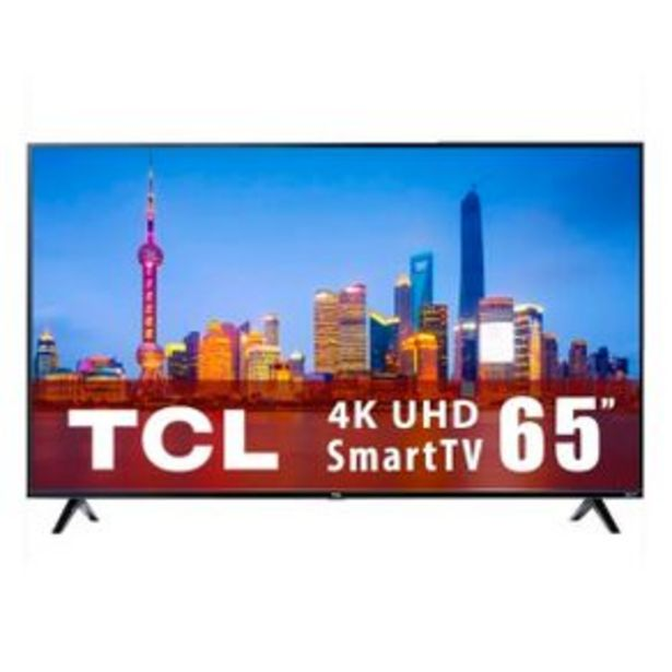 Oferta de Pantalla Smart TV Roku 60P TCL Negro 65S425-MX por $14995