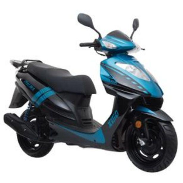 Oferta de Scooter Italika Azul - Negro X150 por $25789