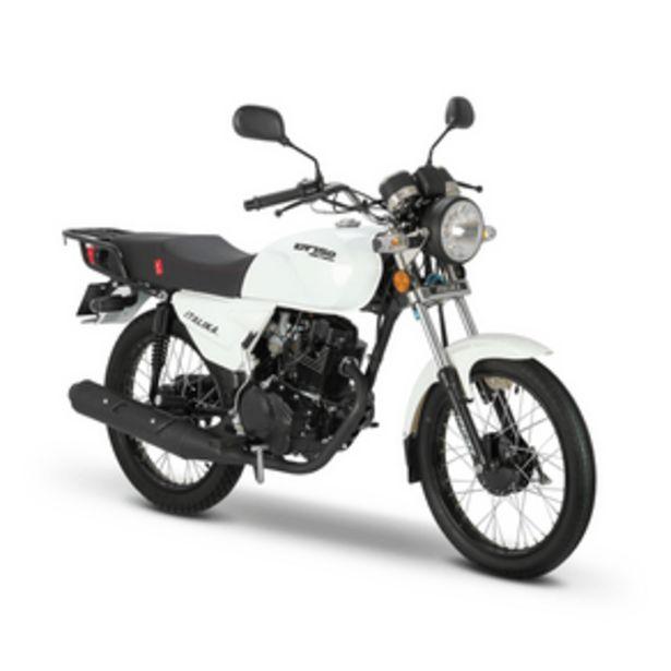 Oferta de Motocicleta Trabajo Italika Delivery Blanca DT150 por $17999