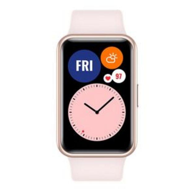 Oferta de Huawei Watch Fit Reloj Inteligente rosa por $2199
