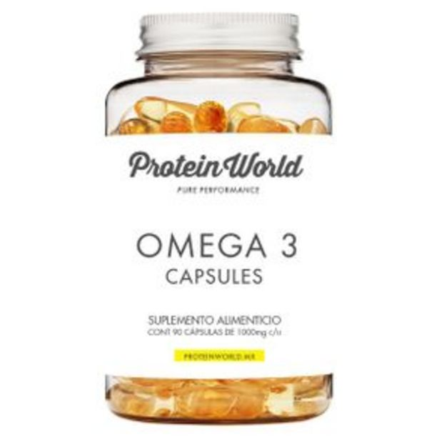 Oferta de Capsulas De Vitaminas Protein World Cap-Ome-90 por $499