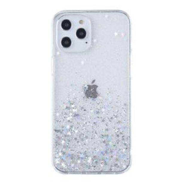 Oferta de Protector Design Collection Stars iPhone 12 Pro/12 Transparente por $249