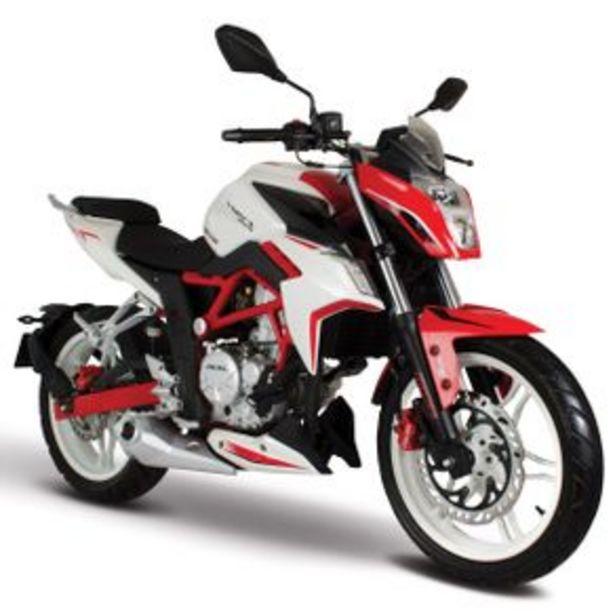 Oferta de Motocicleta Naked Italika Blanco - Rojo - Negro Vort-X 300 por $65999