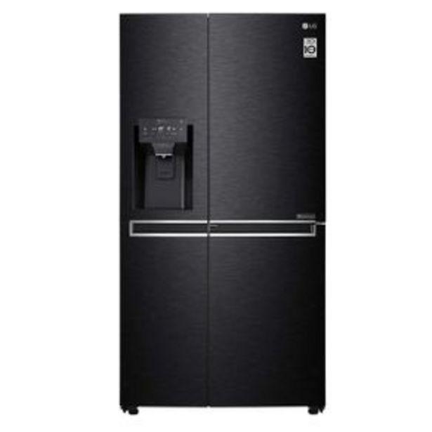 Oferta de Refrigerador Dúplex LG 26P Negro LS74SDT por $30149