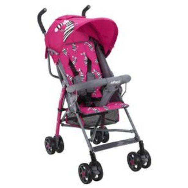 Oferta de Carriola Baston Infanti Rosa 23Xfl801Zpi por $1099