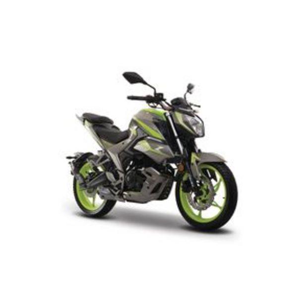 Oferta de Motocicleta Urbana Italika Gris - Verde 250Z por $45999