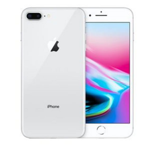 Oferta de Teléfono iPhone 8 Plus Blanco 64 GB Reacondicionado por $6997