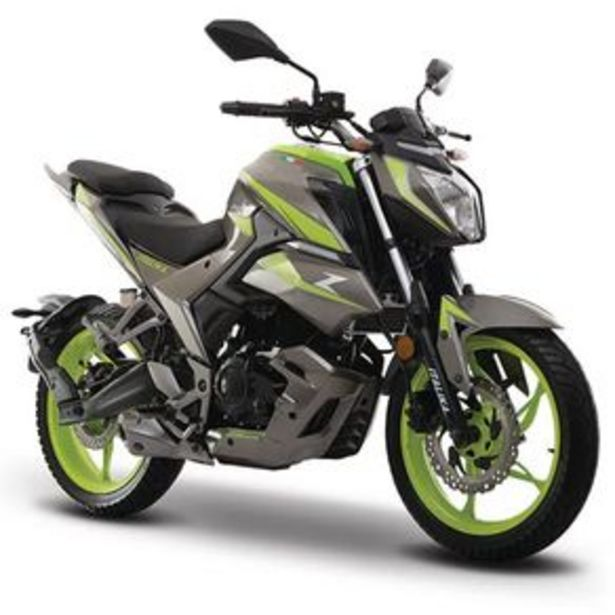 Oferta de Motocicleta Urbana Italika Gris - Verde 250Z por $55293