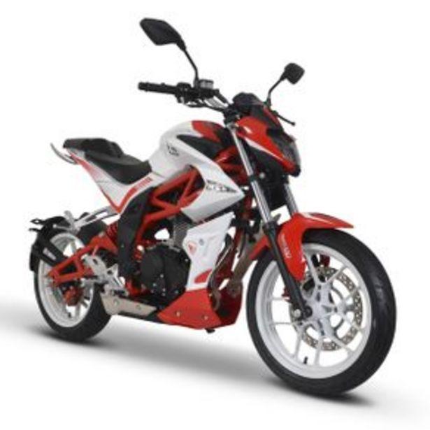 Oferta de Motocicleta Naked Italika Blanco - Rojo - Negro Vort-X 200 por $42999