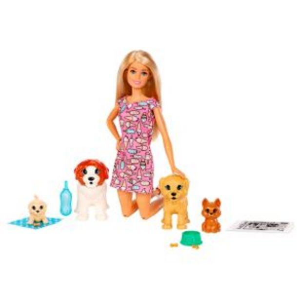 Oferta de Set De Muñecas Guarderia De Perritos Barbie Fxh08 por $499