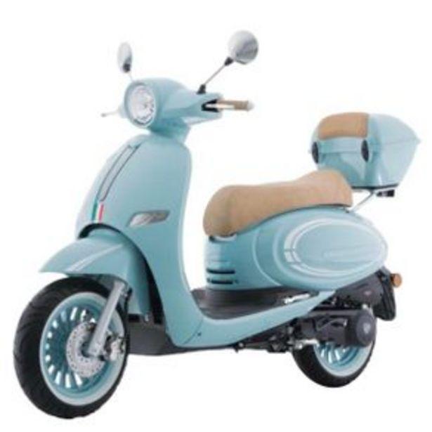 Oferta de Motoneta Italika Vitalia Azul-Beige 150cc por $31764