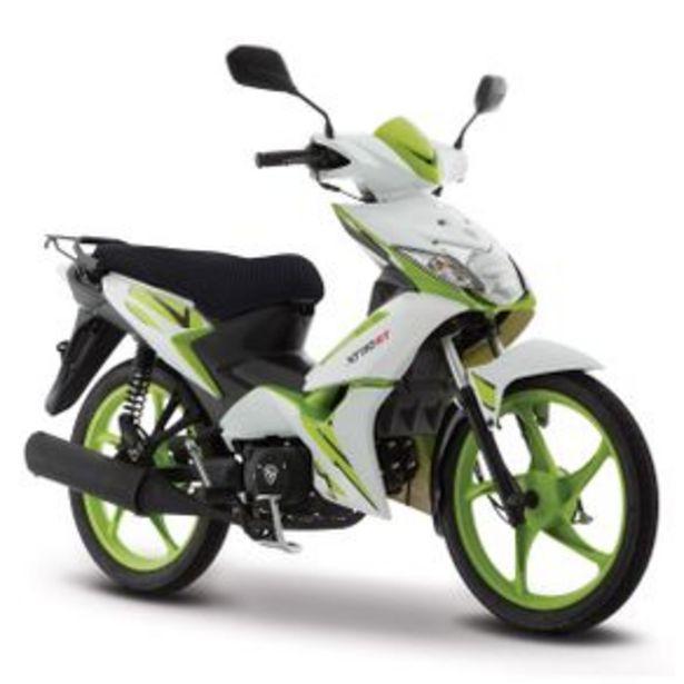 Oferta de Motocicleta Semiautomática Italika Blanco - Verde - Negro Xt110 RT por $16999