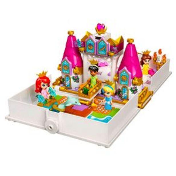 Oferta de Set De Construcción Lego Disney Cuentos e Historias Ariel-Bella-Cenicienta y Tiana 43193 por $655