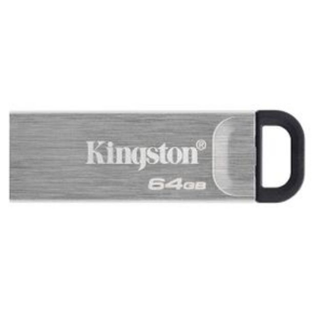 Oferta de Memoria Usb 64 Gb Kingston Technology Gris Dtkn-64Gb por $349