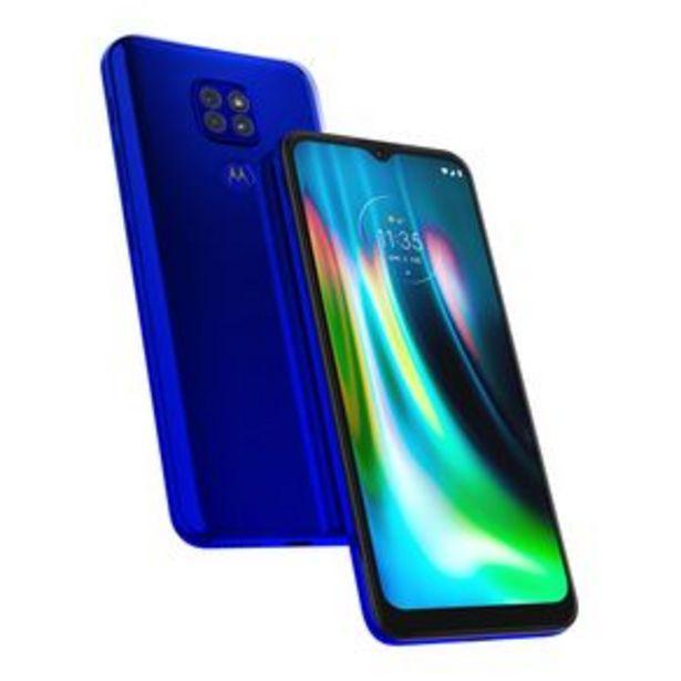 Oferta de Teléfono Celular Motorola G9 Play Azul por $5299