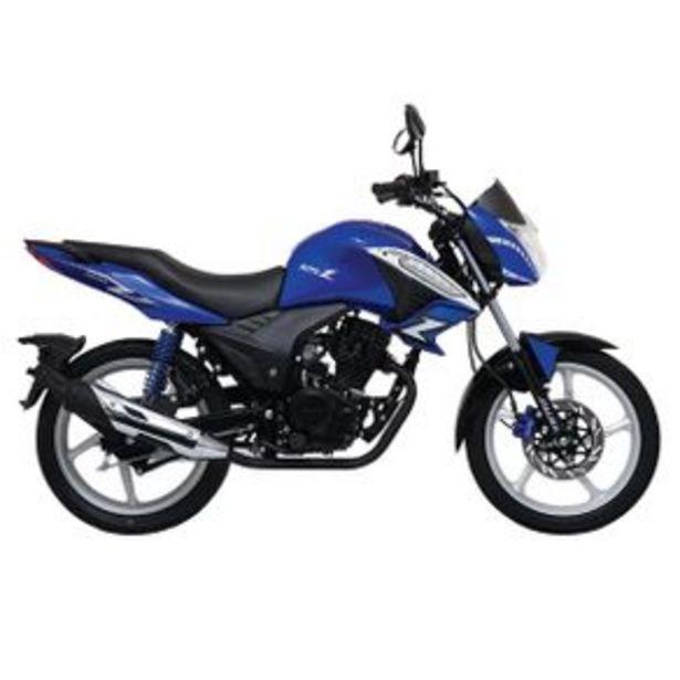 Oferta de Motocicleta Urbana Italika Azul - Negro 125Z por $28420