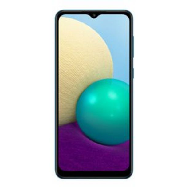 Oferta de Teléfono Celular Samsung Galaxy A02 Azul por $3197