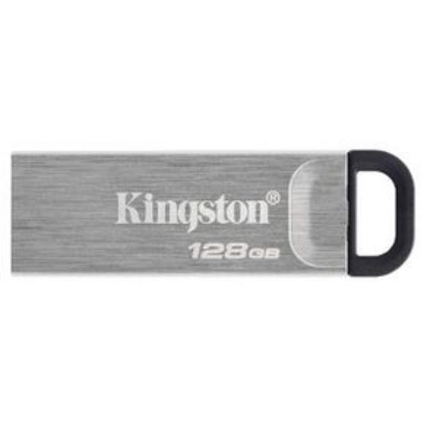 Oferta de Memoria Usb 128 Gb Kingston Technology Gris Dtkn-128Gb por $649