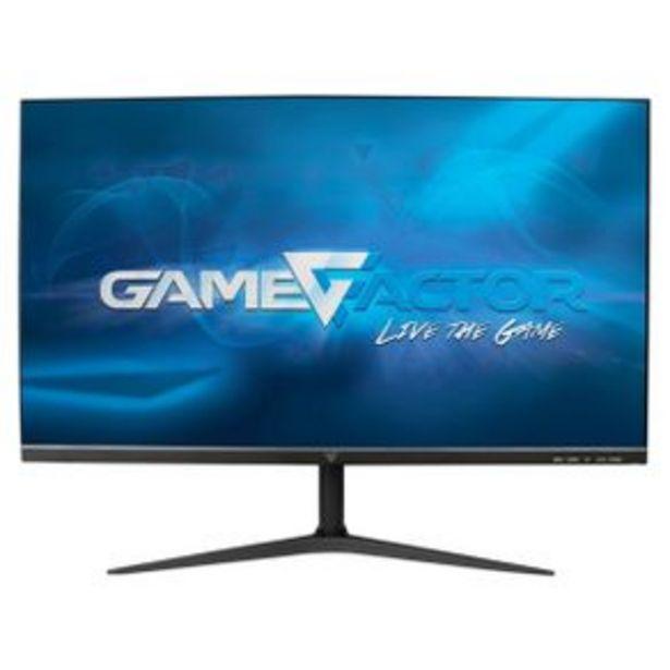 Oferta de Monitor Gamer 24.5P 75Hz Gamefactor Mg300 por $3999