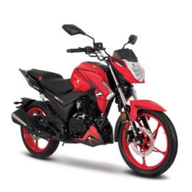 Oferta de Motocicleta Urbana Italika Rojo - Negro 200Z por $41499