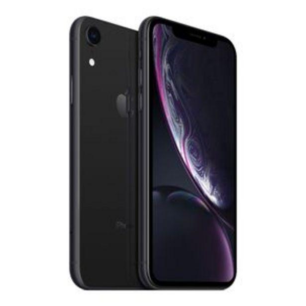 Oferta de Teléfono iPhone Xr 64 GB Black   Reacondicionado Liberado por $9397