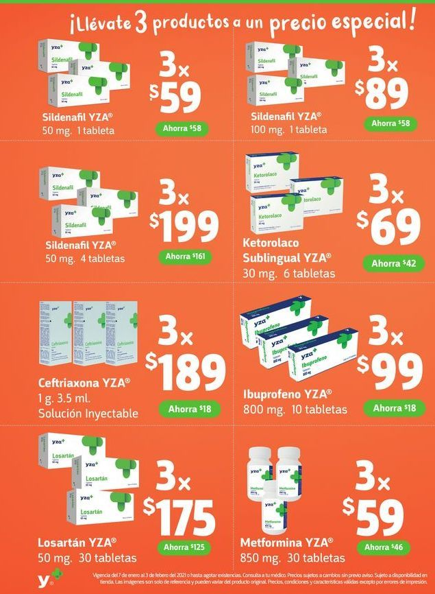 Oferta de Medicamentos por