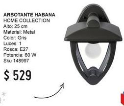 Oferta de Lámparas por $529